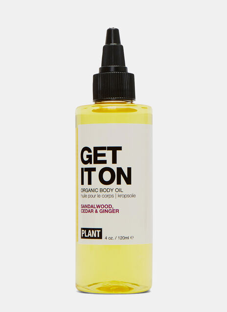 PLANT GET IT ON Body Oil