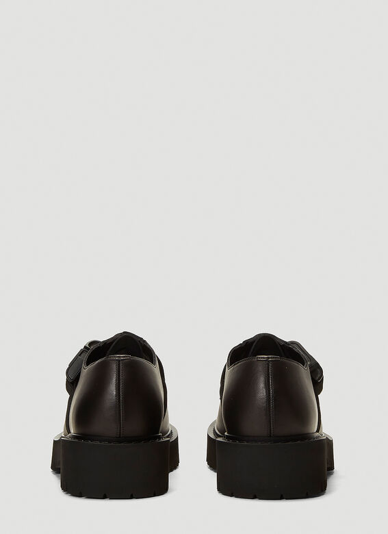 Valentino Buckle-Detail Lace-Up Shoes 4
