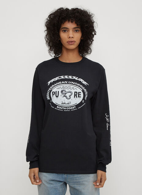 Pressure Mediterranean Family Long Sleeve T-Shirt