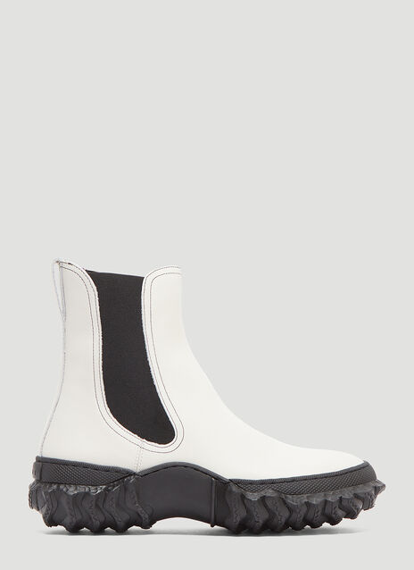 Marni Leather Ankle Boot