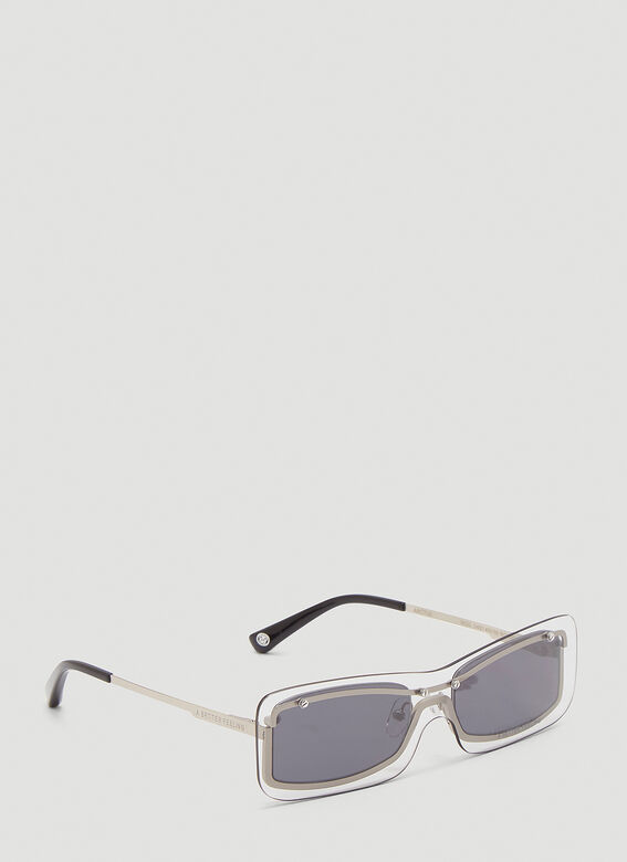 A BETTER FEELING STERGE* Matte stainless steel + ice/smoke lenses 3