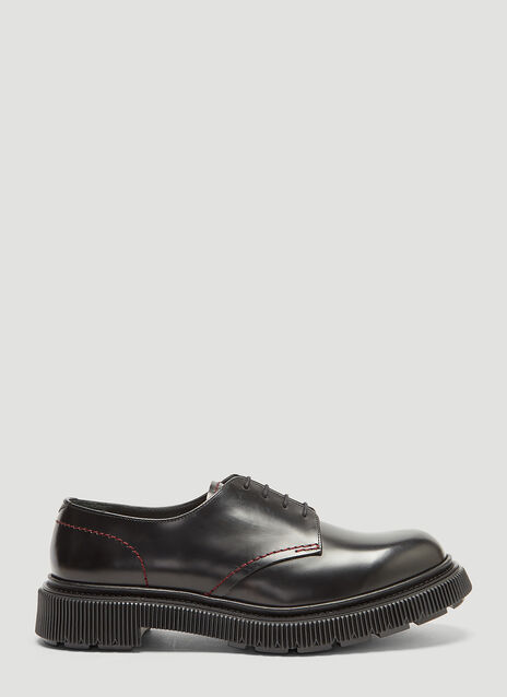 Adieu 103 Red Stitch Derby Shoes