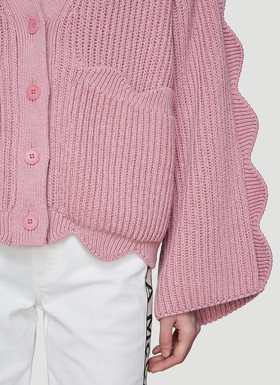 7984550c1888 Stella McCartney Scalloped Knit Cardigan
