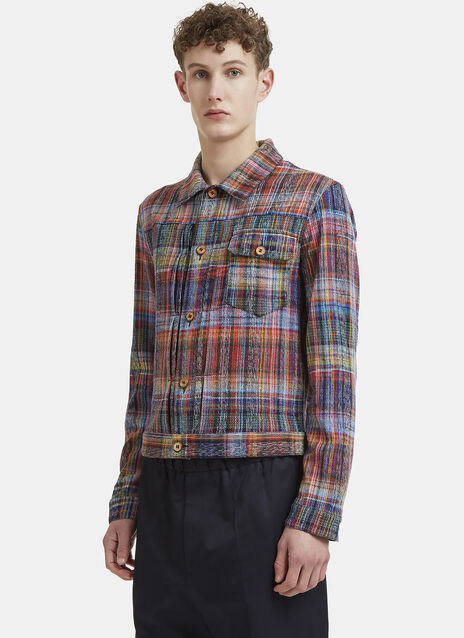 Missoni Checked Knit Shirt