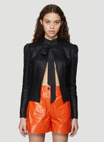 Olivier Theyskens VICTORIAN JACKET WITH A RAISED COLLAR