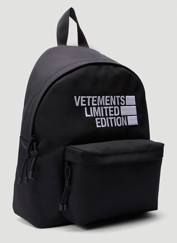VETEMENTS Logo Limited Edition Backpack 2