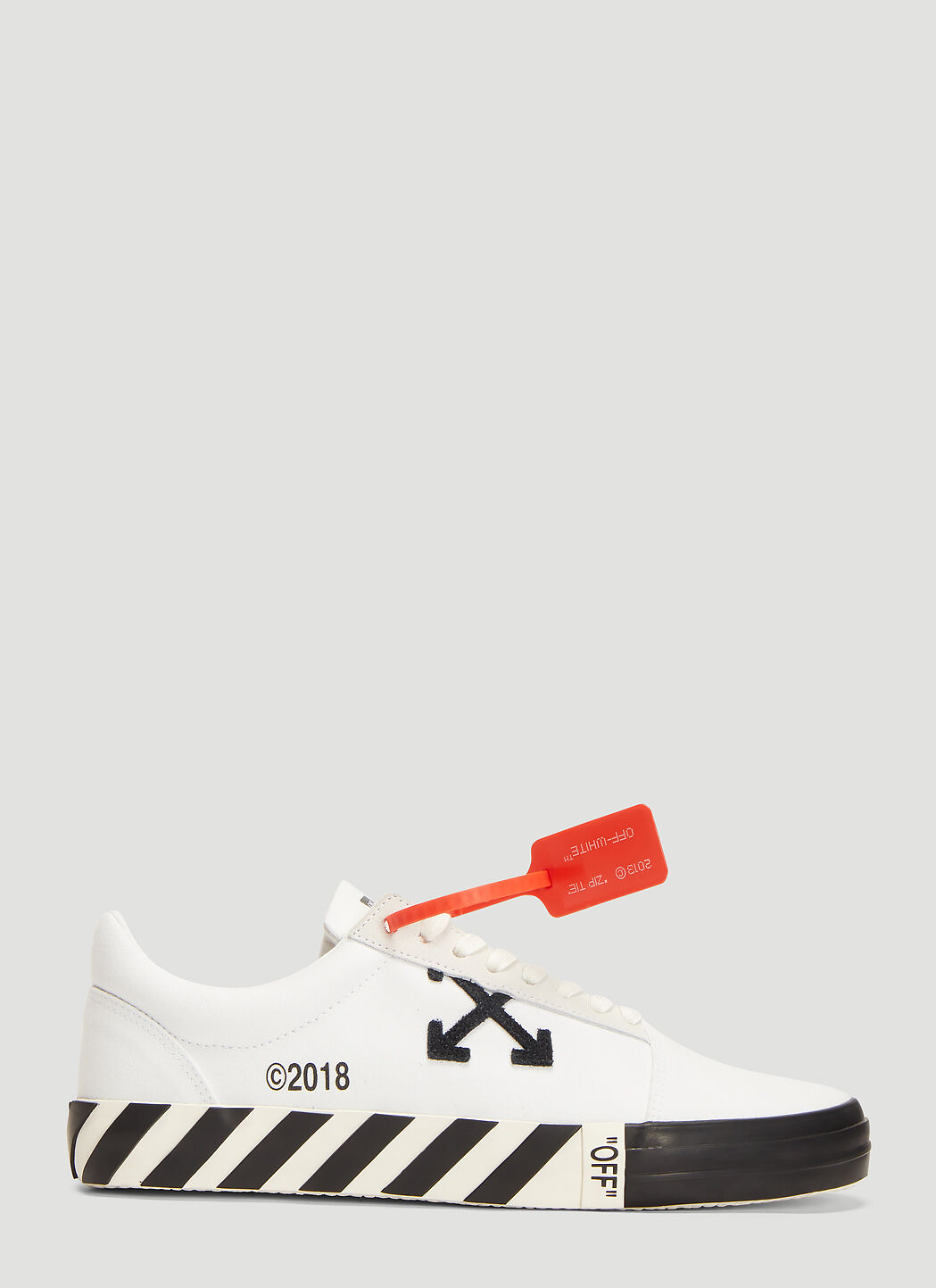 off white vulcanized sneakers