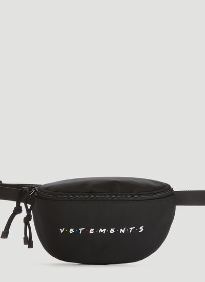Vetements Friendly Logo Belt Bag