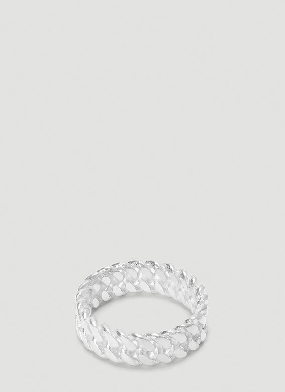 Pearls Before Swine XS CHROME LINK RING 1