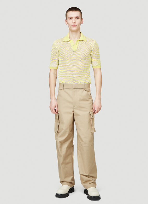Bottega Veneta SHIRT OPEN FISHNET 2