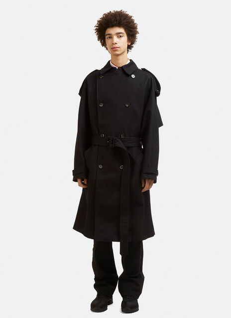 Raf Simons Double Breasted Trench Coat