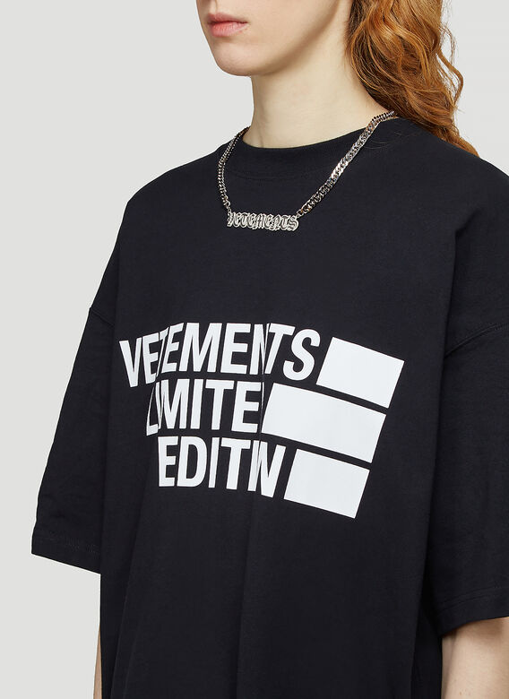 Vetements BIG LOGO LIMITED EDITION T-SHIRT 5