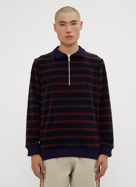 Paria Farzaneh Schoolboy 2 Velour Sweater