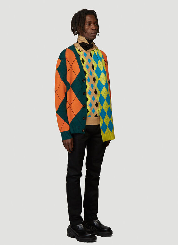 Pringle of Scotland ABSTRACT CAMEL PULLOVER 2