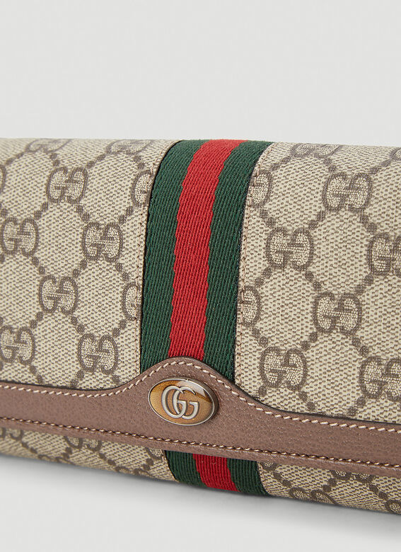 Gucci WALLET OPHIDIA WITH CHAIN 5