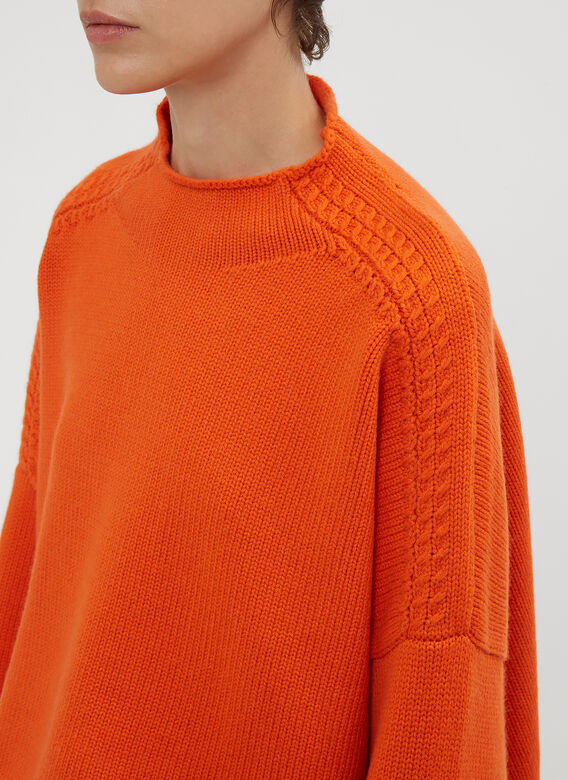 JW Anderson Cable Detail Sweater