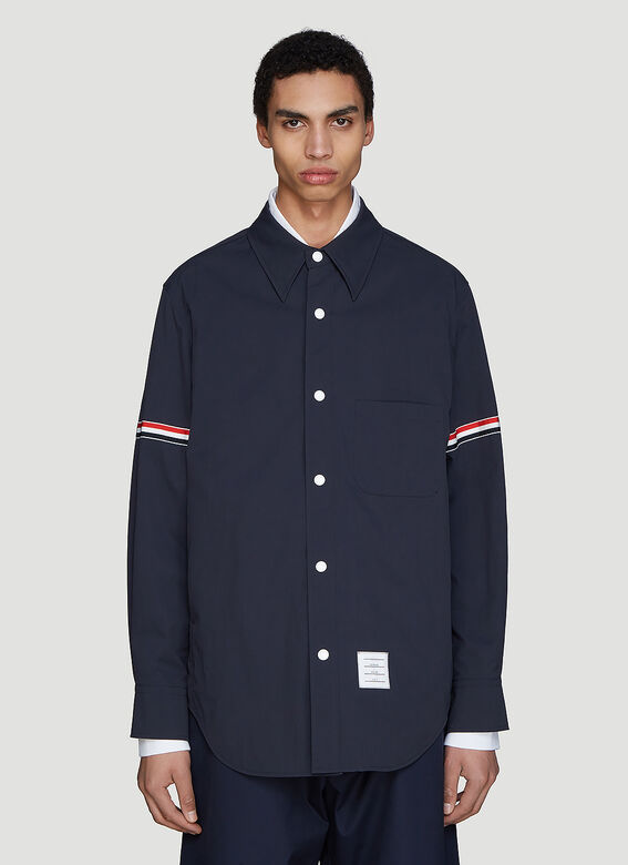 Thom Browne Snap Front Over-Shirt Jacket 1