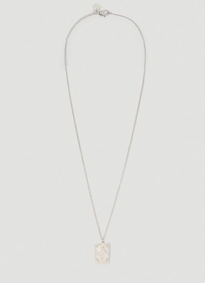 Tom Wood Fortune Pendant Necklace