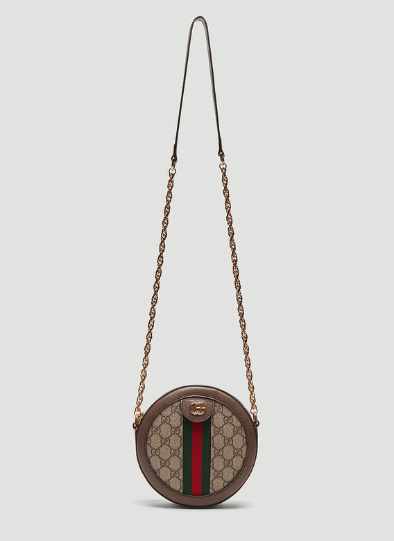 632be585219 Gucci Ophidia Mini GG Round Shoulder Bag