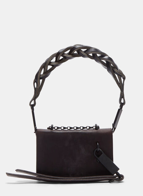 Braided Strap Mini Chain Shoulder Bag