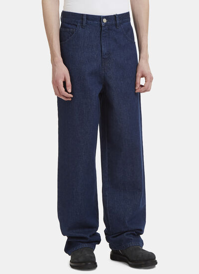 Raf Simons Denim Chino Pants
