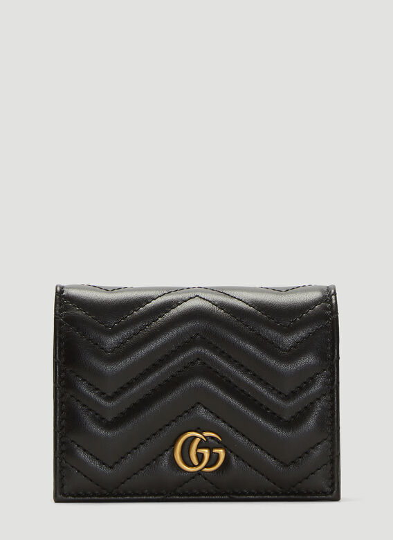 Gucci GG Marmont Card Case Wallet 1