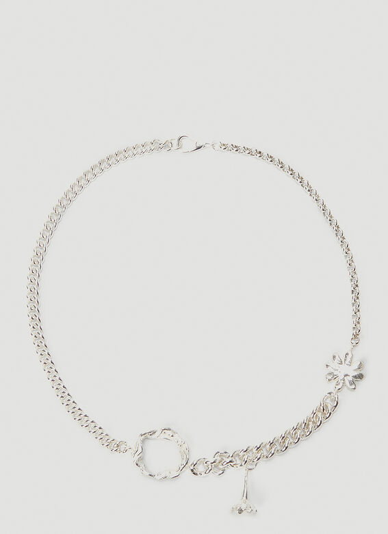 Georgia Kemball Daisy Mixed Curb Link Necklace 1