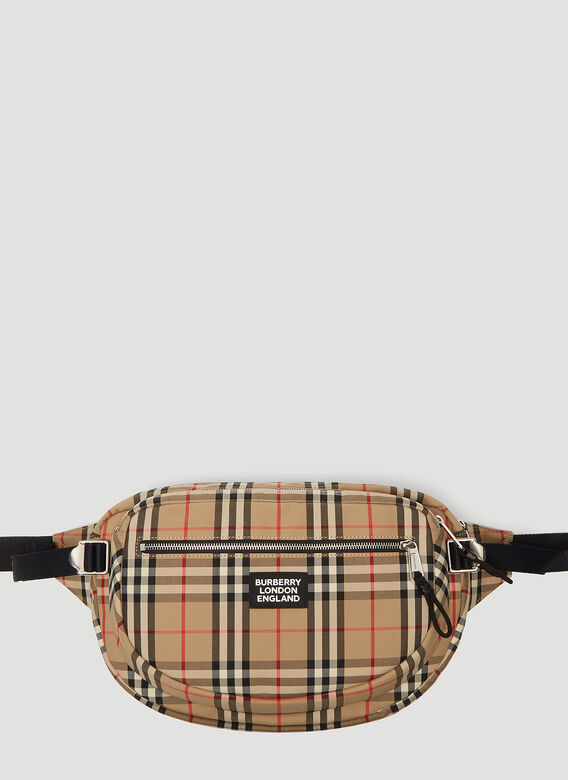 Burberry Belt Vintage Check Belt Bag