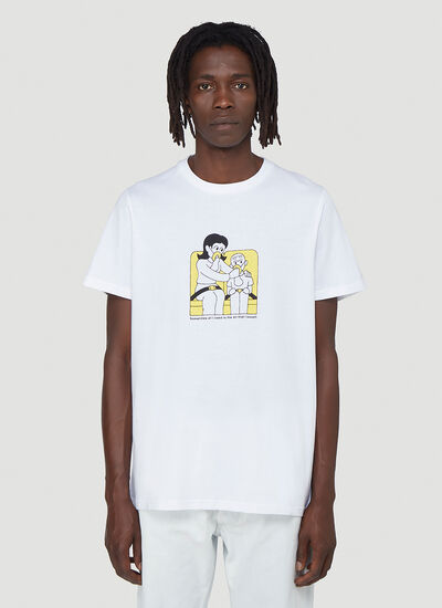 LN-CC X KYLE PLATTS T 01 Health and Safety T-Shirt