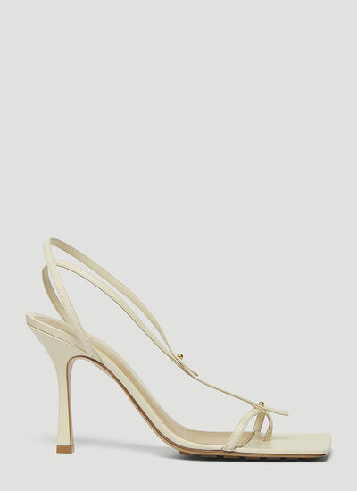 Bottega Veneta Stretch Heeled Sandals