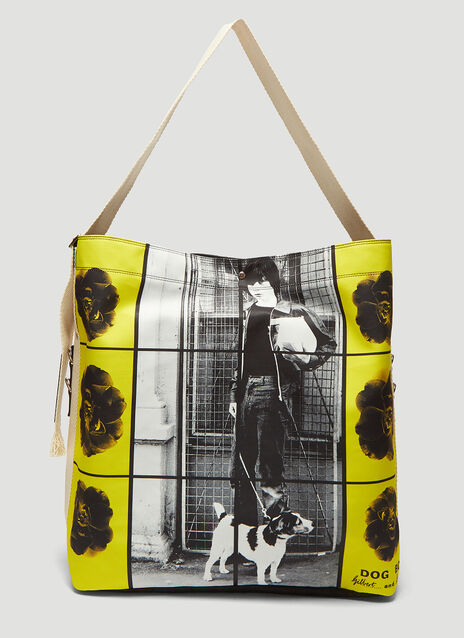 JW Anderson X Gilbert & George Dog and Boy Duffle Bag