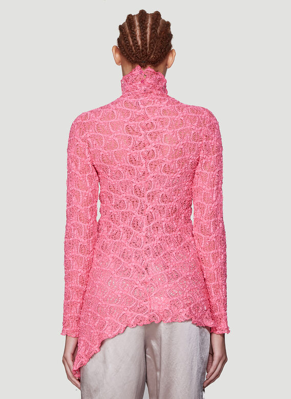 Sies Marjan Wille Lace Ruched Centre Top 4