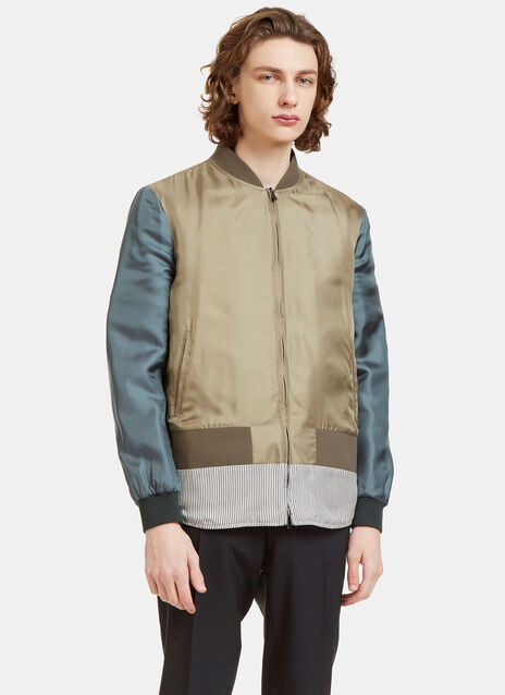 Reversible Padded Bomber Jacket