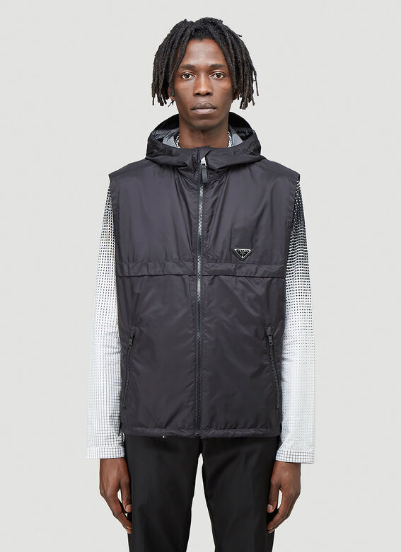 Prada Gilet in re-nylon 1