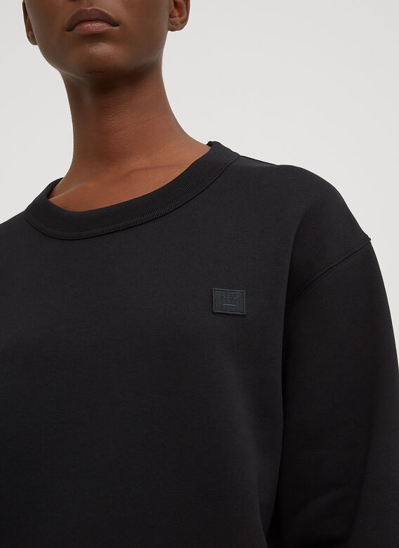 Acne Studios Fairview Oversized Face Embroidered Sweater 5