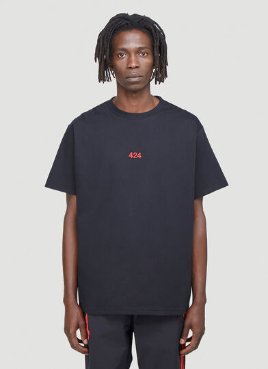 424 Embroidered-Logo T-Shirt