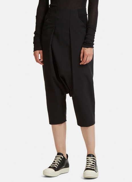 Swing Dropped Crotch Cropped Pants