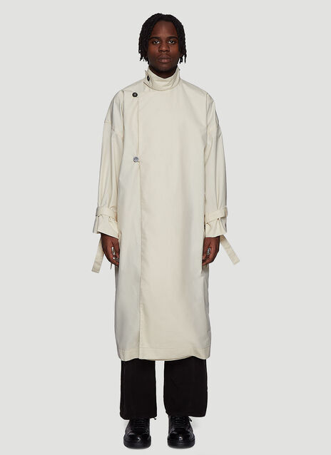 Xenia Telunts Canvas Trench Coat