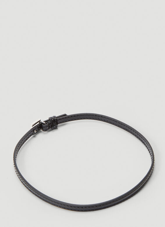 Gucci Leather Choker Necklace 2