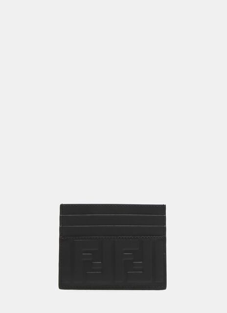 Fendi FF Debossed Card Holder
