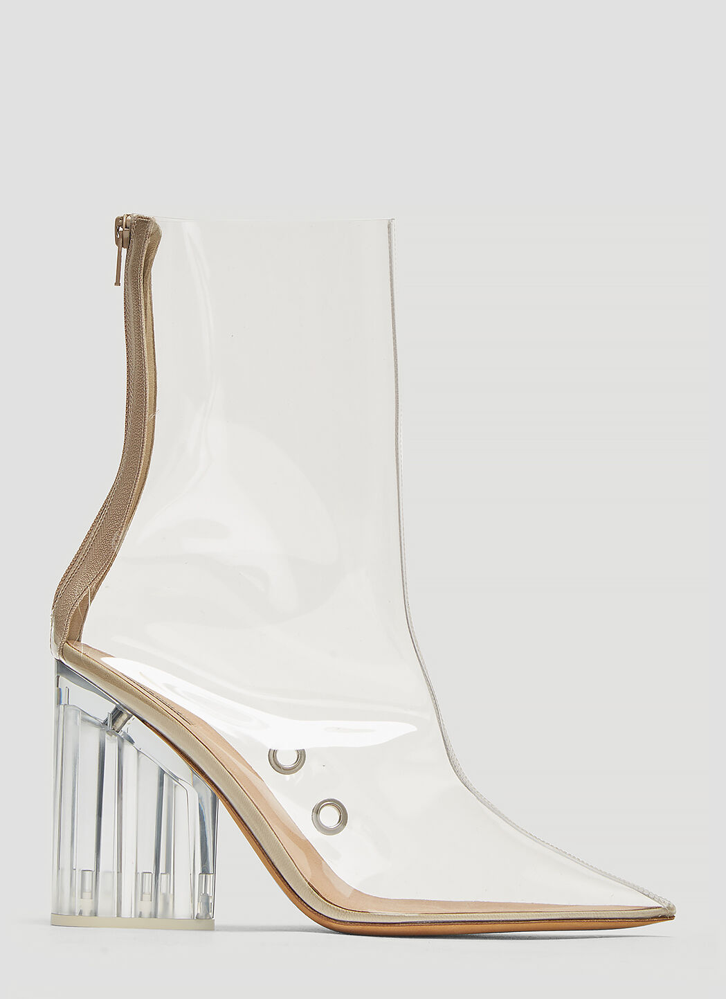 Yeezy PVC Ankle Boots in Clear