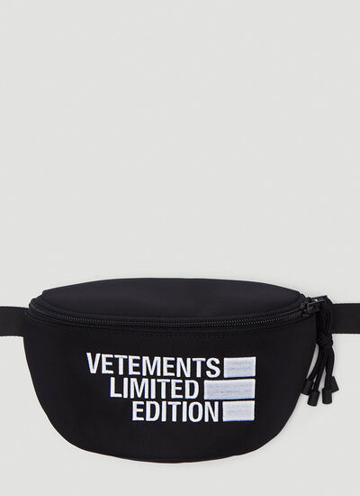 Vetements Logo Limited Edition Belt Bag