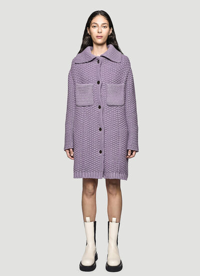 Bottega Veneta Knitted Coat