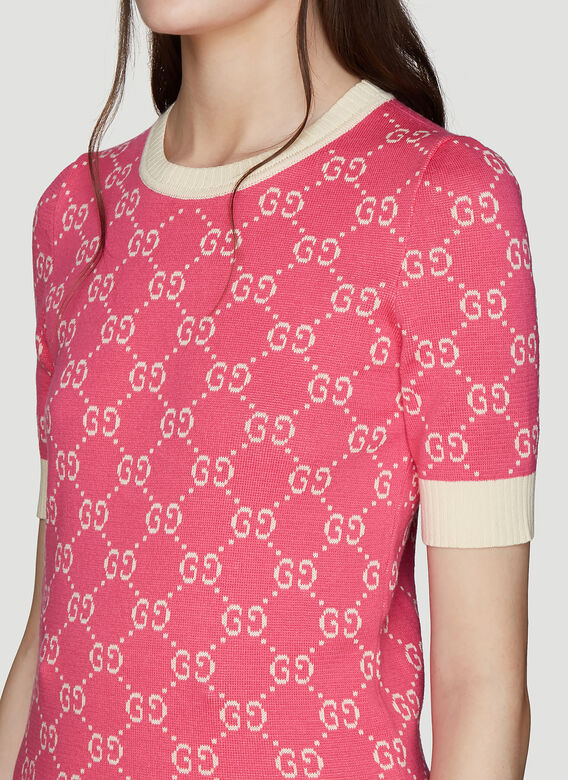 Gucci GG Print knit Sweater