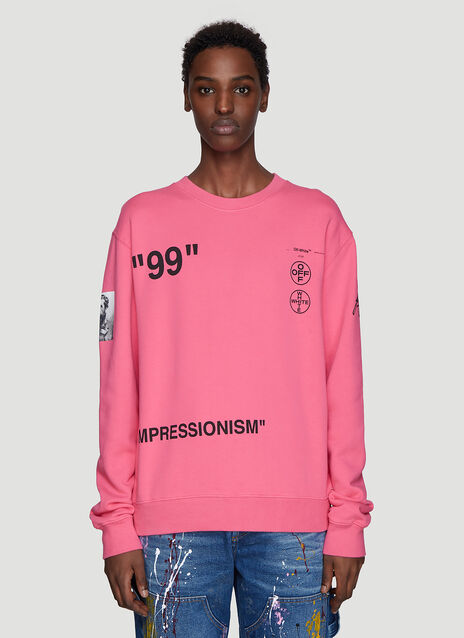 Off-White Boat Sweatshirt