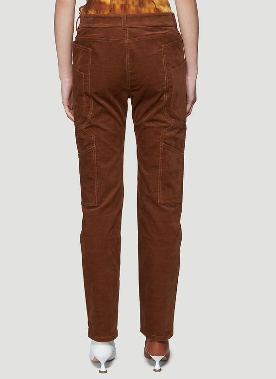 ASAI BRANCH FITTED COTTON WORK PANT 4
