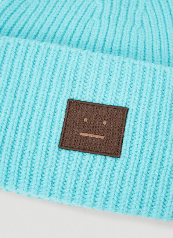 Acne Studios Pansy N Face Knit Hat 4