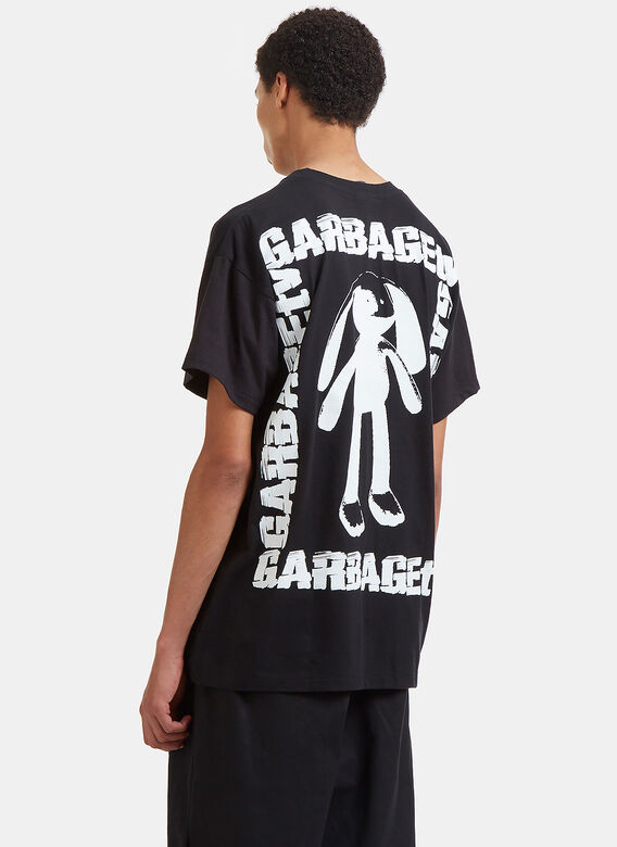 Garbage TV Caatch Me Graphic Printed T-Shirt