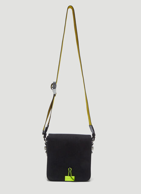 Off-White Binder Clip Crossbody Bag