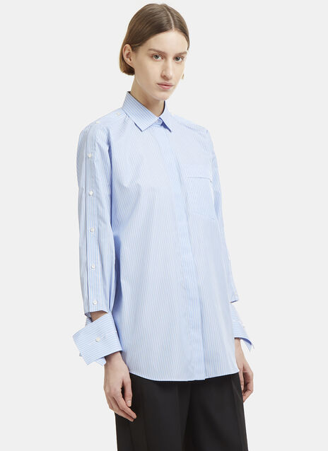Valentino Button Long Sleeve Shirt